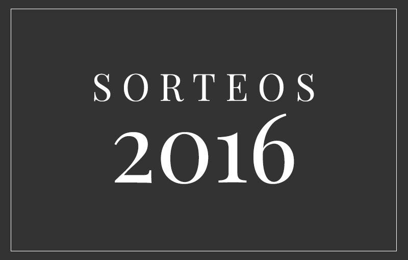 Sorteos 2016