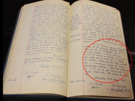 Pinceladas de la historia de Cáritas y Tómbola a través de sus Libros de Actas