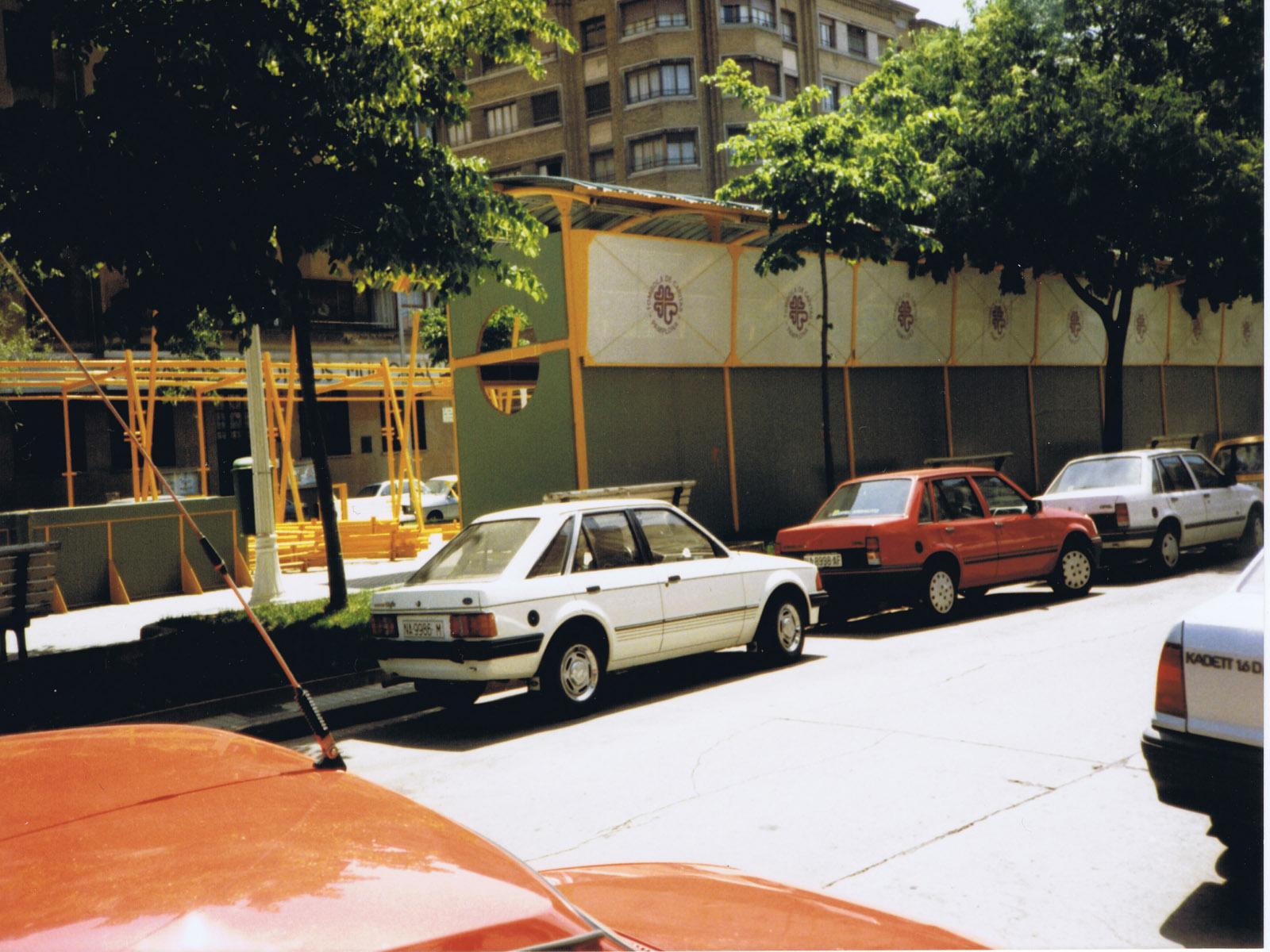 Imagen trasera de Tómbola en 1991
